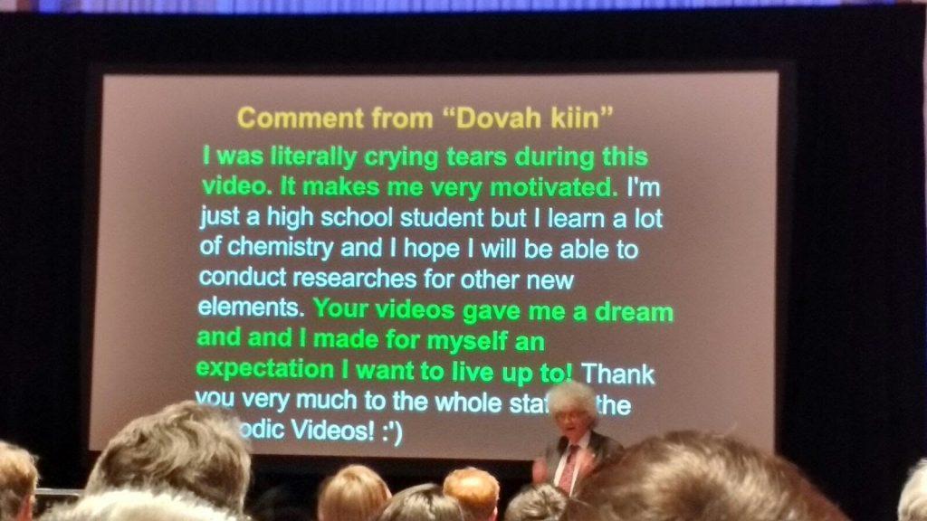 Slide from Sir Martyns talk
