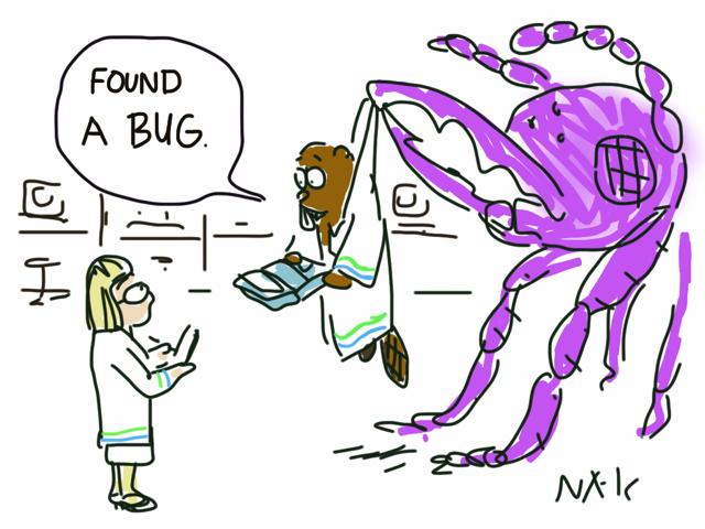 Cartoon by Raymond Nakamura
