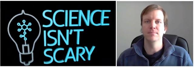 Science isn't scary logo