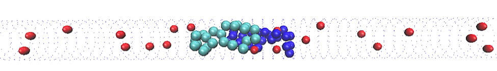 particles added to system of polymers
