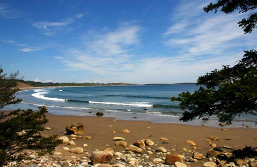 Gaff Point beach. Photo courtesy of NCC