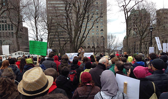 Scientists-march-on-Parliament-Hill-2