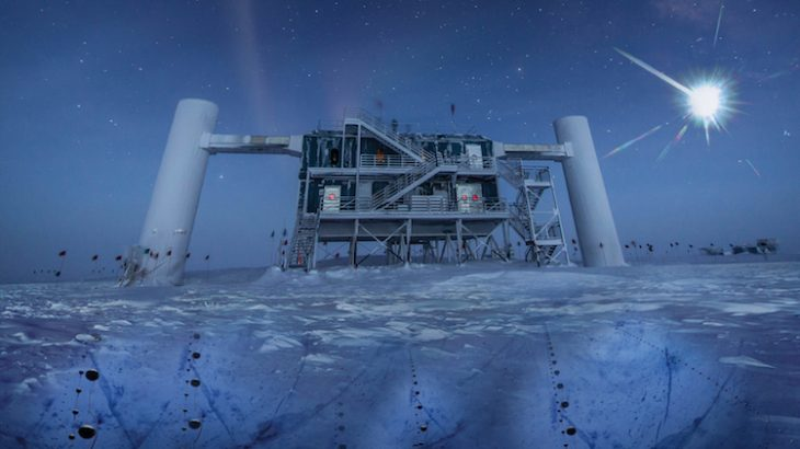Scientists are hoping to boost the ability of the neutrino detection system, IceCube.