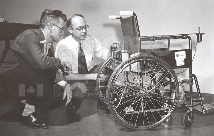 George-Klein_first-electric-wheelchair_NRC