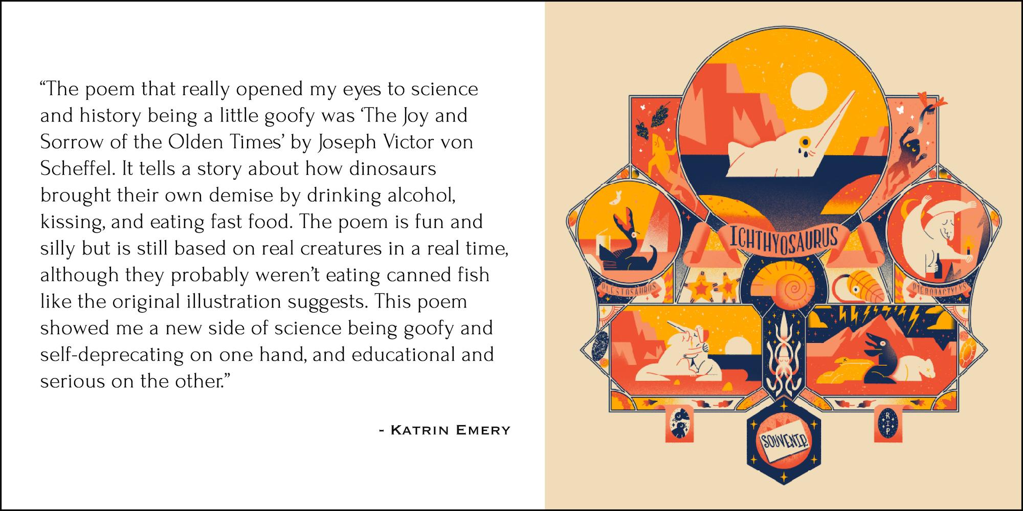 Artwork by Katrin Emery