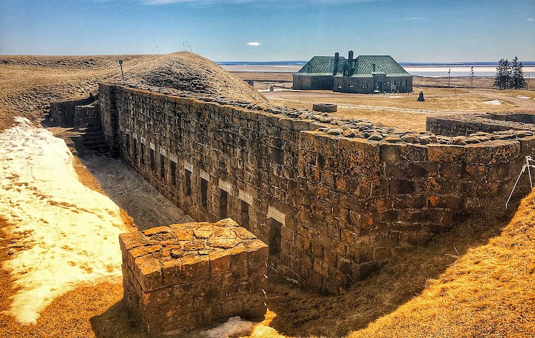 Image by Shawn M. Kent, Fort Beauséjour–Fort Cumberland National Historic Site, Canadian Parks Service, CC-BY-SA 4.0
